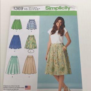 Simplicity Pattern 1369